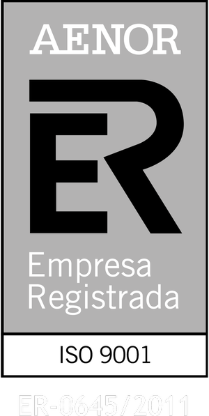 Aenor Empresa Registrada. This link will open in a pop-up window.