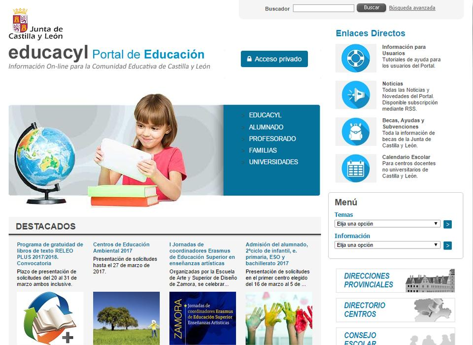 Calendario Educacyl.Divisa It Proxia Technology